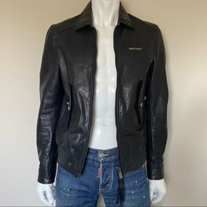 Dsquared leather jacket